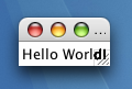 hello world python gui