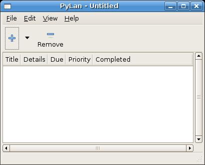 Python GTD pyGTK