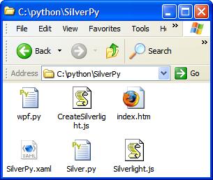 Python Silverlight