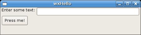 Python wxPython